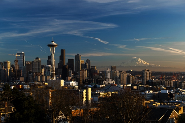Downtown Seattle by Tiffany Von Arnim via flickr (CC)